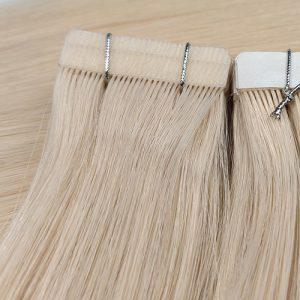 double needle tape in hair extensions, tape in hair extensions, hair extensions, human hair extensions, professional hair extensions, permanent hair extensions
