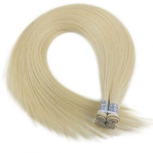 hair weft, hand-tied hair weft, hair weave, hair extensions, human hair extensions, professional hair extensions, permanent hair extensions