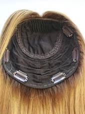 14 Inches Silk Topper Medium Blonde Balayage