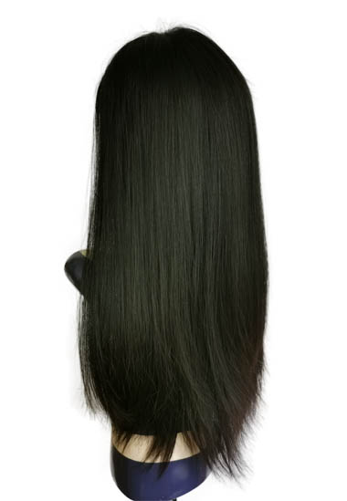 18Inches Natural Color Lace Topper