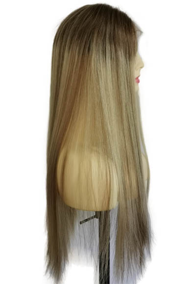 22 inches Golden Blonde Lace Topper
