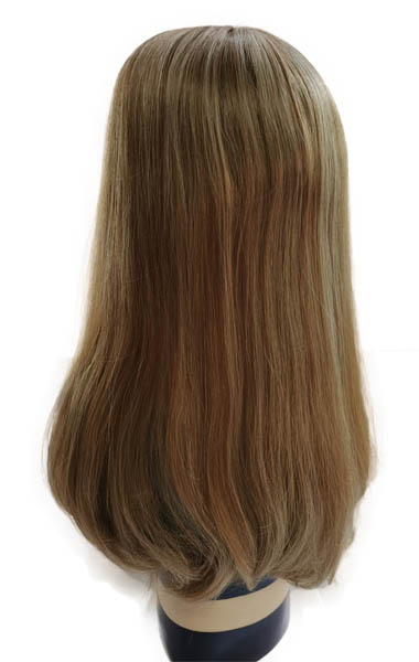 20 Inches Silk Toppers Ash Blonde
